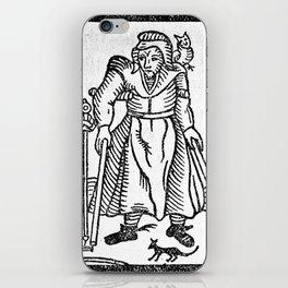 The Devil in Britain and America iPhone Skin
