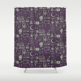 Haunted Attic: Phantom Shower Curtain