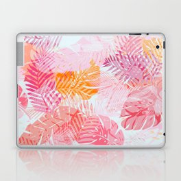 Tropical Palms in Citrus Laptop & iPad Skin