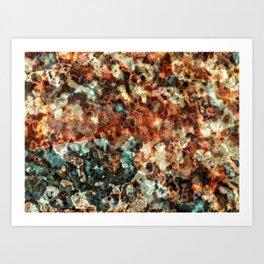 Burnt Out Red Dwarf Art Print