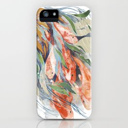in the waterweeds iPhone Case