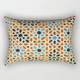 Details of Lindaraja in the Alhambra Rectangular Pillow