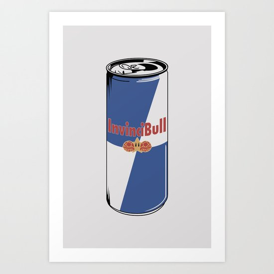 InvinciBull Energy Drink Art Print
