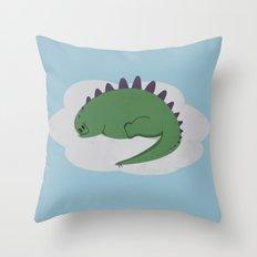 Asleep on a Cloud.  Throw Pillow
