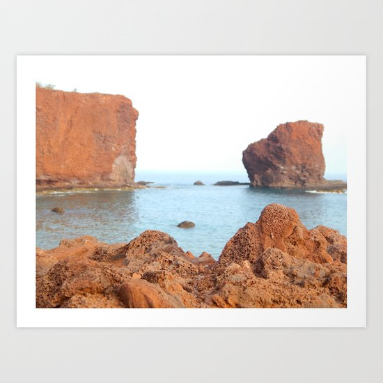 Sweetheart Rock Art Print