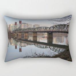 Hawthorne Bridge Rectangular Pillow