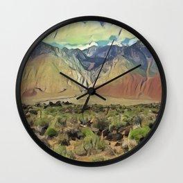 Sierra Nevada II Wall Clock