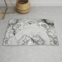 Foliated Marble as a Geometric Map of the Universe Rug