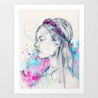 Lily III Art Print