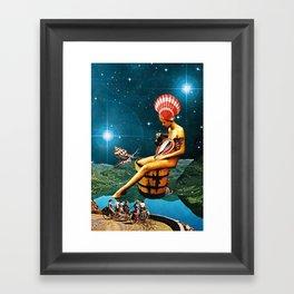 Amphitrite Framed Art Print