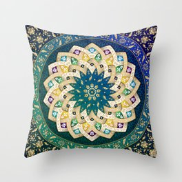 Twin Stars Throw Pillow