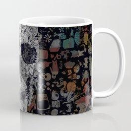Doodle Skull Coffee Mug