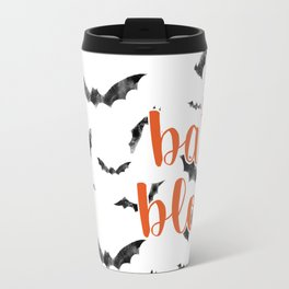 Halloween Bats Travel Mug