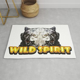 Wild Spirit - Wolface Rug