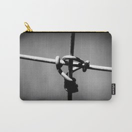 Barbed Wire Cross Carry-All Pouch
