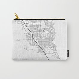 Minimal City Maps - Map Of Provo, Utah, United States Carry-All Pouch