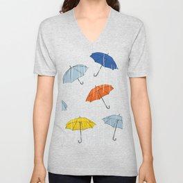 Rainy day Unisex V-Neck