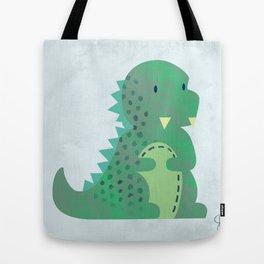 Cute Baby Godzilla Tote Bag