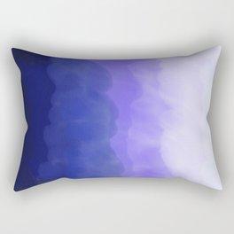 Blue Ombré Wash Rectangular Pillow