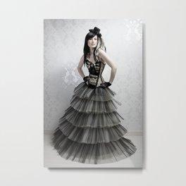 haute couture 2 Metal Print