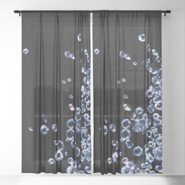 Diamond Nights Sheer Curtain