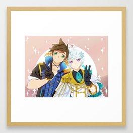 Idol Sorey & Mikleo Framed Art Print