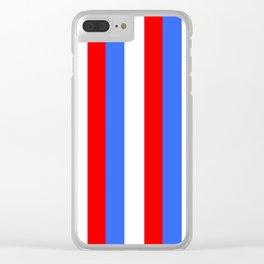Drapeau français Clear iPhone Case
