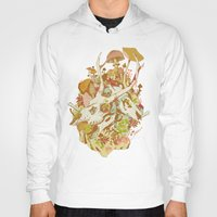 spring Hoodies featuring skulls in spring by Teagan White