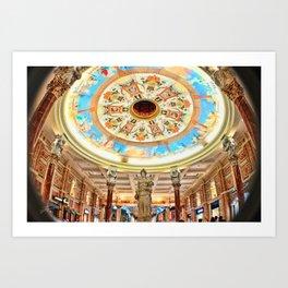 Caesars Palace Vegas Art Print