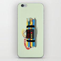 Even ideas bomb iPhone & iPod Skin