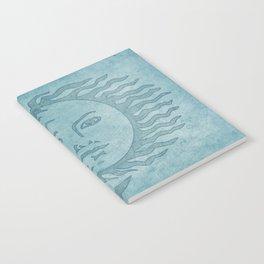 Sun Moon And Stars Batik Notebook