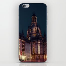 frauenkirche dresden iPhone Skin