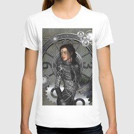 Steampunk, steampunk lady T-shirt