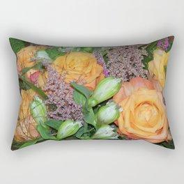 Annas Flowers III Rectangular Pillow
