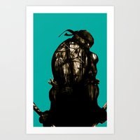 leonardo Art Prints featuring Leonardo by superdaimos