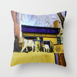 Cats in Buenos Aires #2 Throw Pillow