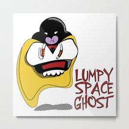Lumpy Space Ghost Metal Print