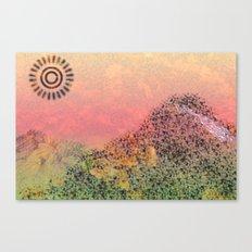Mountain Series - Day-break Canvas Print