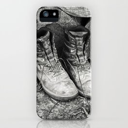 Manual Labor - Firewood 4 iPhone Case