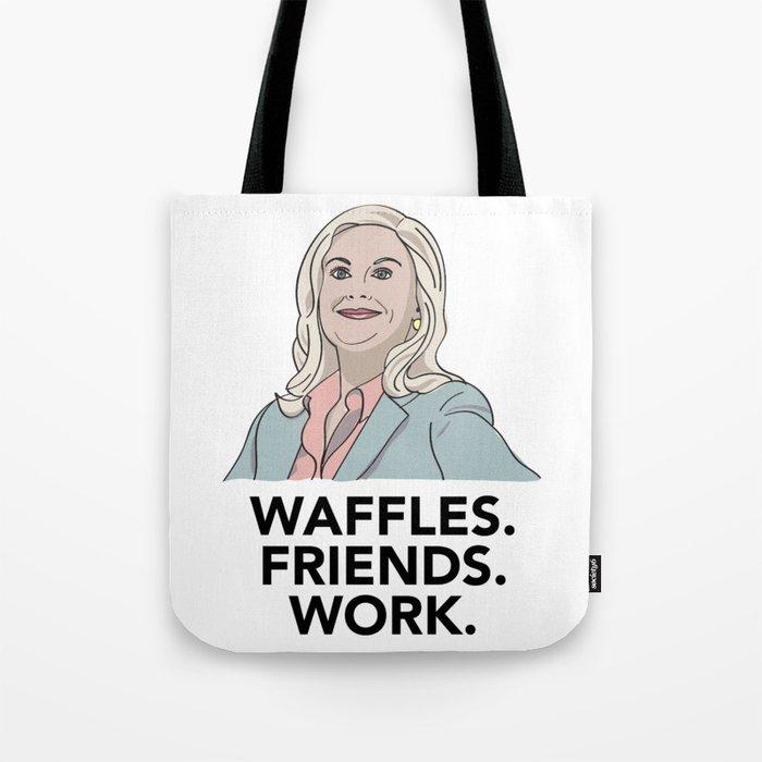 Waffles Tote Bag