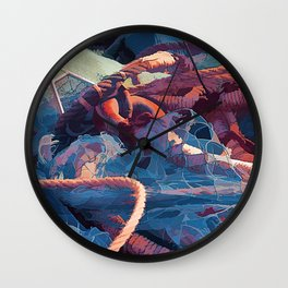 Fishermans Wall Clock