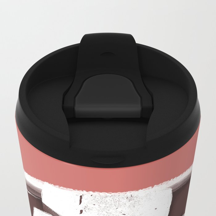 Hot Chocolate Metal Travel Mug