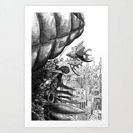 Sky Bird Art Print