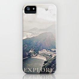 explore. iPhone Case