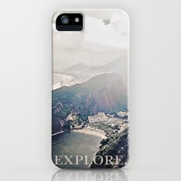 explore. iPhone Case