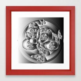 BLACK'N WHITE DREAM Framed Art Print