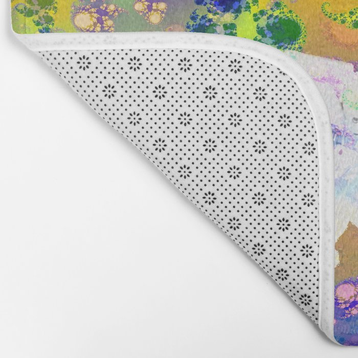 Psychedelic Space Bath Mat