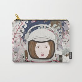 Lady Astronaut Carry-All Pouch