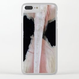 Get yo Butt outta ma face! Clear iPhone Case