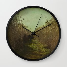 The path into the unknown Wall Clock